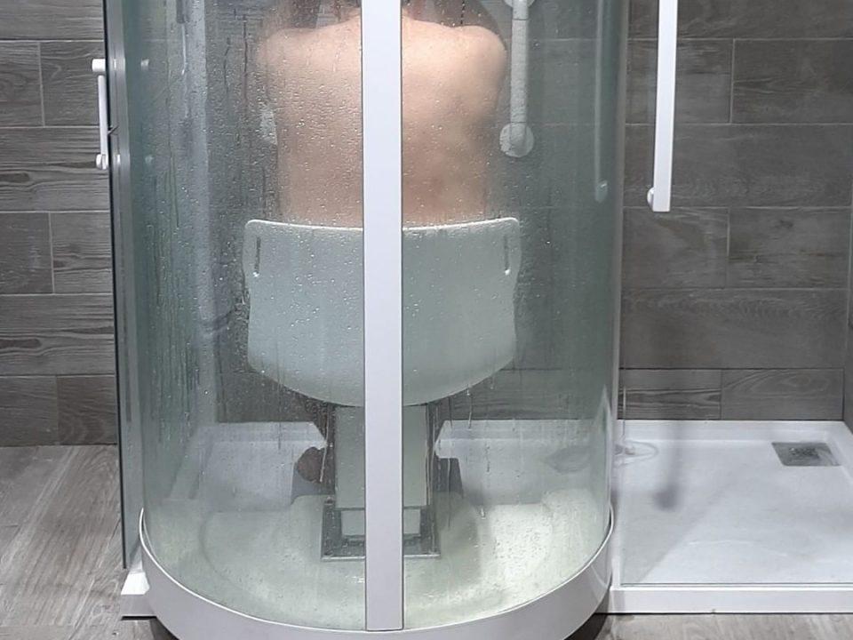 La ducha más segura del Mundo. Baño accesible.